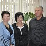Татьяна Твердая, Ирина Загреба и Валерий Озерянов.