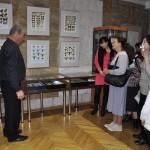 Валерий Озерянов проводит экскурсию